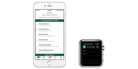 Aplicación de Apple para mejorar la calidad del sueño