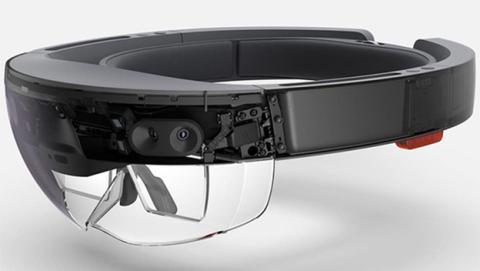 Componentes electrónicos de las HoloLens de microsoft