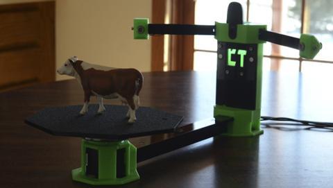 CowTech Ciclops, el primer escáner 3D lowcost