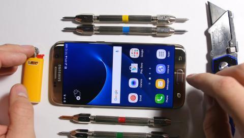 Test de tortura del Samsung Galaxy S7 Edge