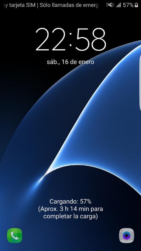 Interfaz del Samsung Galaxy S7 Edge