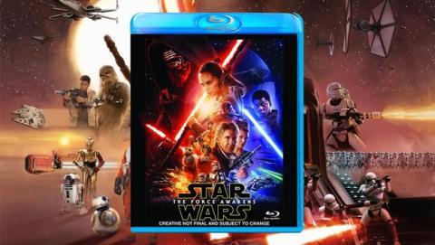 star wars 7 en dvd y blu-ray