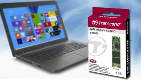 SSD M.2 de 1TB  de Transcend