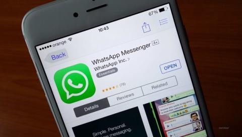 WhatsApp ya permite envíar documentos desde el iPhone