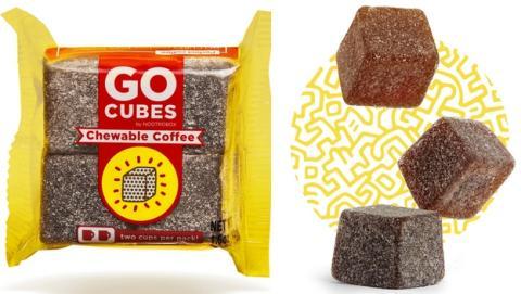 GO Cubes, el café masticable con la cantidad exacta de cafeína