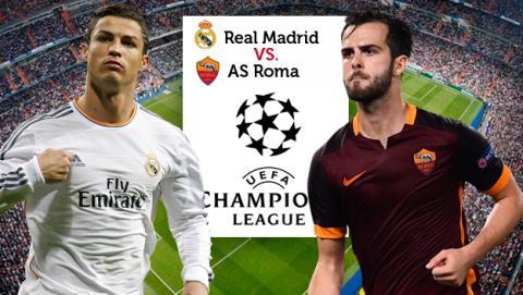 Cómo ver en directo online el Real Madrid vs AS Roma