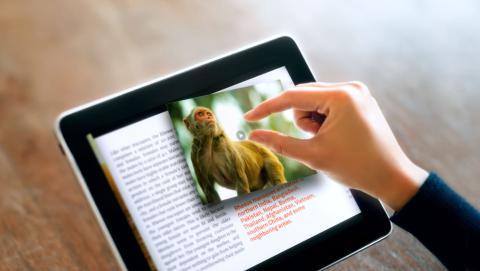 Google patenta un libro interactivo con proyección de vídeo