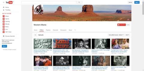 Cómo encontrar peliculas gratis en YouTube