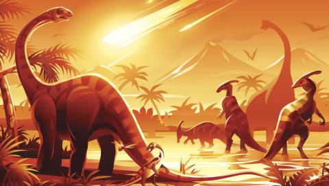 Científicos investigarán por primera vez el motivo de la extinción de los dinosaurios