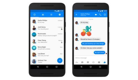 Nueva versión en Facebook Messenger para Android