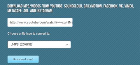 Bajar música de YouTube por mp3fiber.com