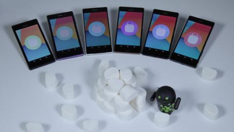 Vídeo de Android 6.0 Marshmallow para los Xperia de Sony