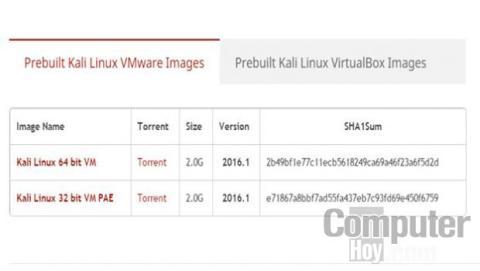 Una de las formas más sencillas para probar Kali Linux es utilizar una de las imágenes preconfiguradas que permiten usar Kali Linux como una máquina virtual.