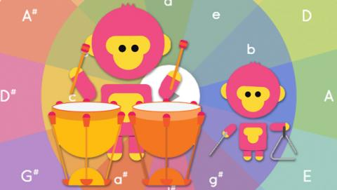 Experimenta con la música con Google Music Lab