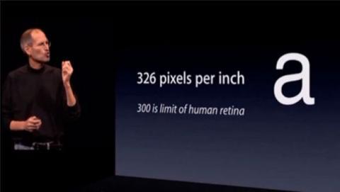 numerosos estudios se encargaron de desmentir que el ojo humano no podía ver más de 300 ppp.