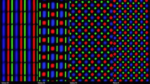Con la matriz Pentile se integran una mayor cantidad de subpíxeles.