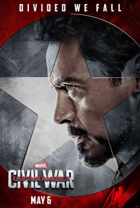 iron Man Capitán América Civil War