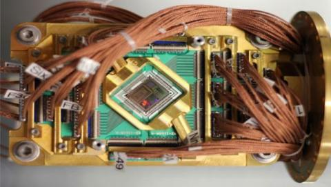 Con ordenadores cuánticos se pueden procesar enormes cantidades de datos.