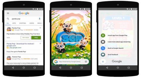 Probar juegos de Google Play antes de comprarlos