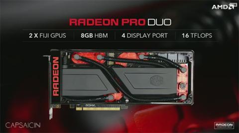 Regriferación líquida en Radeon Pro Duo