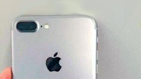 El iPhone 7 Pro con cámara dual, en una fotografía filtrada