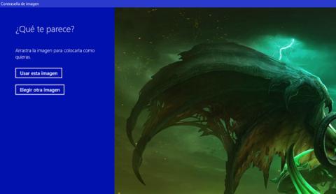 Escoge tu imagen favorita para utilizarla como contraseña de imagen en Windows 10