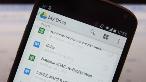 Google Drive para Android ya permite editar documentos online