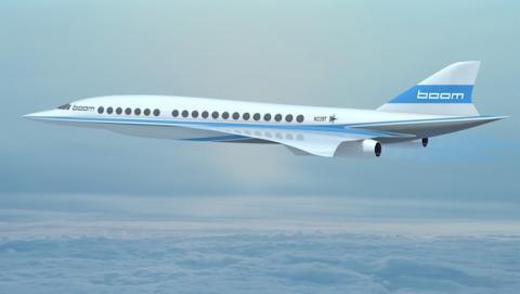 Boom fabricará jets supersónicos con Virgin Galactic