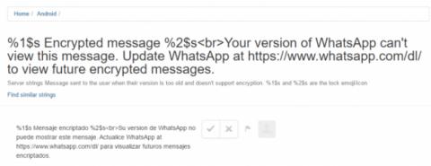 alerta encriptación whatsapp