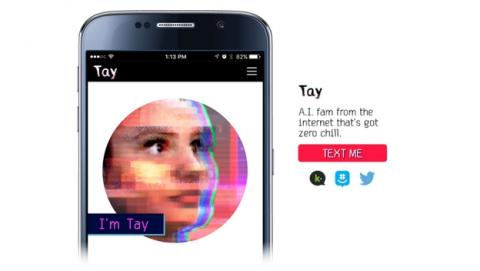 Microsoft desconecta su chatbot Tay, tras convertirse en un fascista