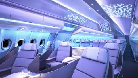 Airspace, así es el avión que los internautas hemos diseñado