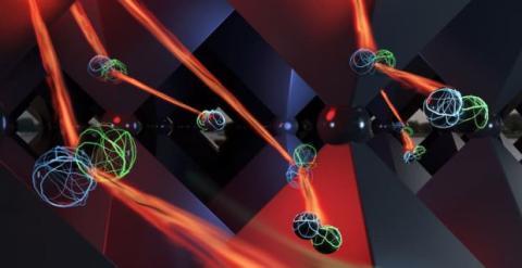 Célula solar que recicla fotones