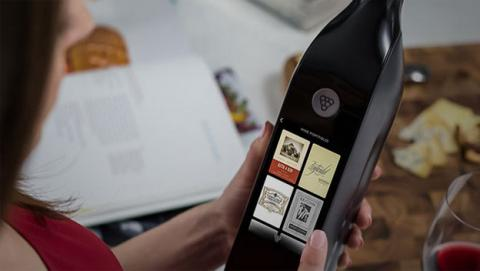 Kuvée, botella inteligente de vino