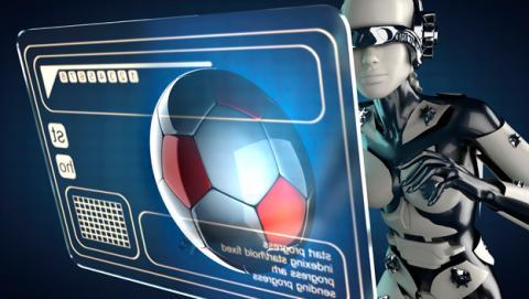 Como sera futbol en el futuro, futbol futuro, futbol 3d, futbol drones