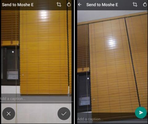 WhatsApp mejora interfaz cámara
