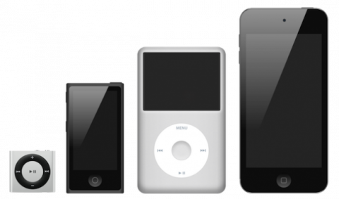 Evolución del iPod