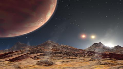 Encuentran un planeta con tres soles   Life - ComputerHoy.com