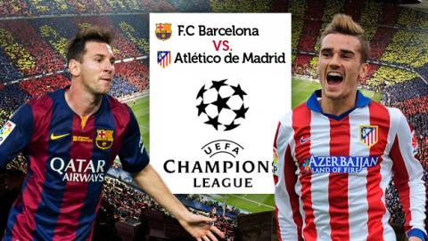 Como ver online el Barcelona Atletico de Madrid