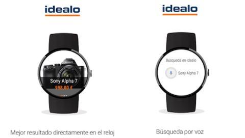 idealo app para Android Wear