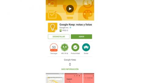 Paso 1  Google Keep