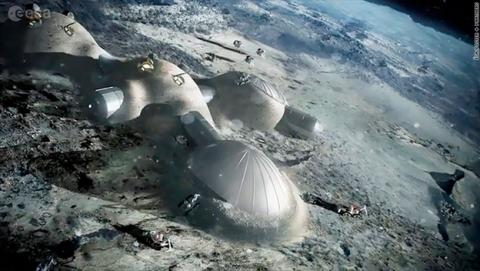 pueblo en la luna