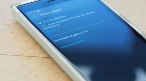 Descargando una Build de Windows 10 en un teléfono Lumia