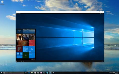 Aplicación Connect para utilizar Continuum en Windows 10 sin el dock