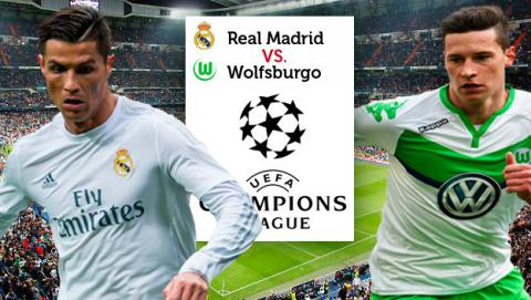 Real Madrid wolfsburgo, real madrid champions