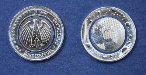 Planeta Azul, moneda de 5 euros