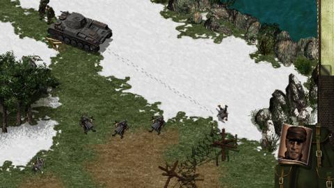 Captura del videojuego Comandos de Pyro Studio