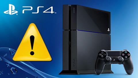problemas con la actualización 3.5 de PS4