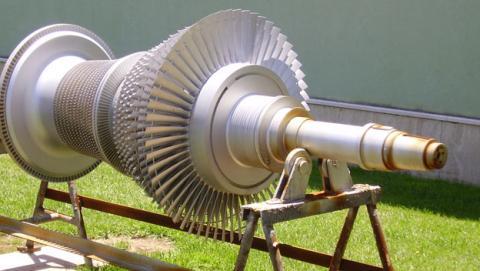 turbina que produce electricidad