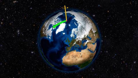 eje rotacion tierra