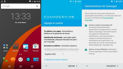 Cyanogen wileyfox swift